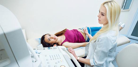 УЗИ, прием врача-гинеколога в центре «Альфа-мед»