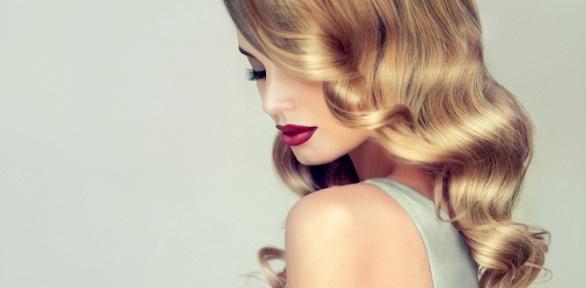 Женская стрижка, восстановление волос иукладка вцентре Perlamutr