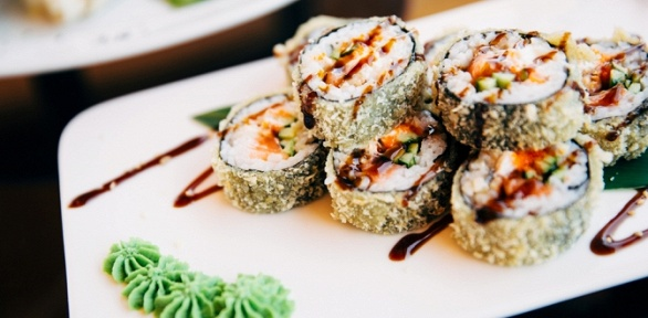 Сеты отресторана доставки «Наши суши» заполцены