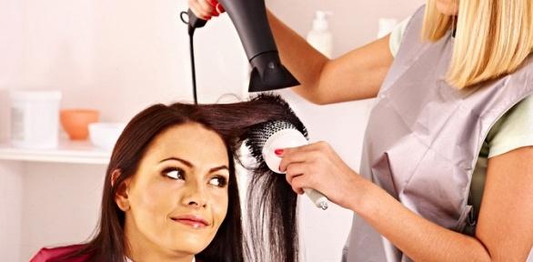 Стрижка, окрашивание волос всалоне «Дом красоты»