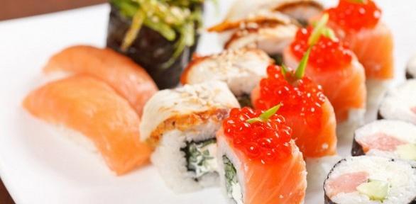 Промонаборы навыбор отслужбы доставки Sushi-City за полцены