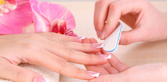 Маникюр, педикюр спокрытием гель-лаком встудии Sabira Nails