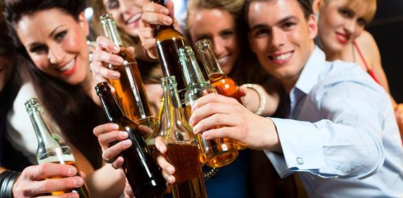 Пивная вечеринка вкафе «Сказочная ночь»