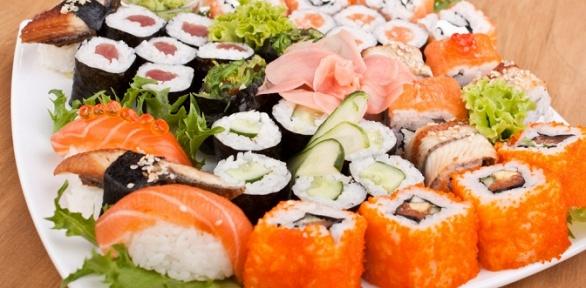 Суши, роллы исеты отслужбы доставки японской еды «Золотой Дракон»