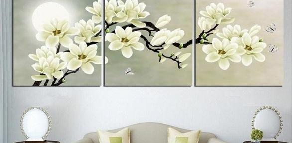 Печать модульной картины, фотографии нахолсте откомпании «Красотища48»