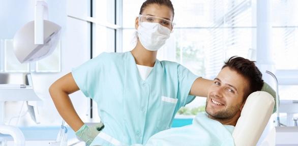Лечение кариеса иустановка пломбы встоматологической клинике AModent Art