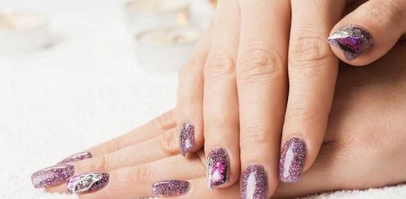 Маникюр инаращивание ногтей в«Салоне красоты №1»