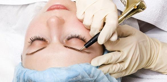 Микроблейдинг, перманентный макияж иокрашивание бровей всалоне «Стиль»