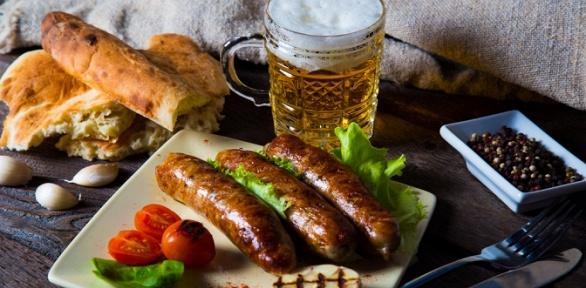 Пивной сет вгриль-баре «Колбаса»