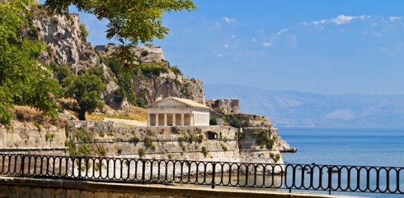 Тур вГрецию наостров Корфу вмае ииюне