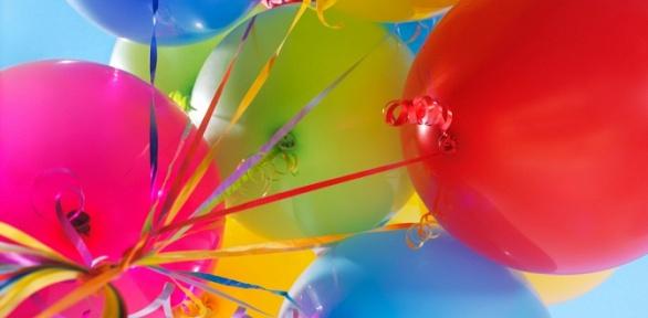 Букет воздушных шаров собработкой