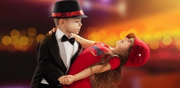 Занятия танцами для детей встудии «Таланто»