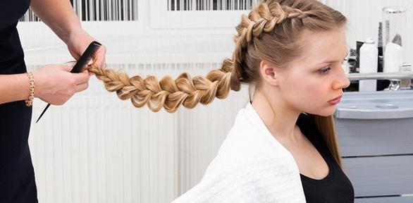 Мужская, детская стрижка, плетение кос вдетском салоне красоты «Лёля»