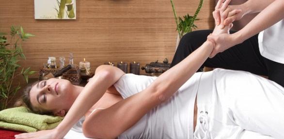 1, 3или 5сеансов классического тайского массажа встудии «Прикосновение»