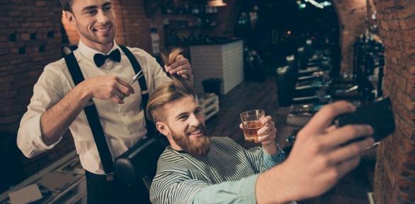Мужская стрижка, коррекция бороды или усов вбарбершопе «Тени»