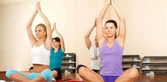 Занятия йогой или медитацией встудии здоровья «Оранж»