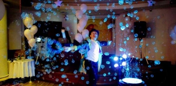 Онлайн-проведение праздника откомпании Fancy Bubbles