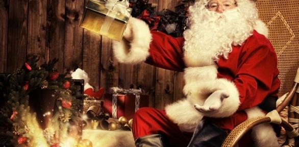 Поздравление Деда Мороза откомпании «Видеоподарок»