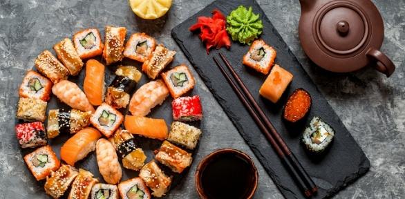 Суши-сеты отслужбы доставки Sushi Mika заполцены