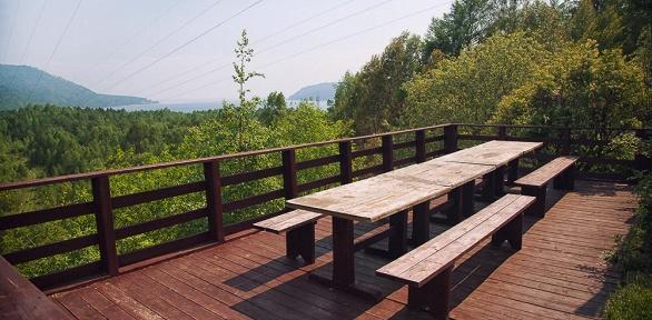 Отдых на побережье реки Ангары в гостинице «Прибайкальская»