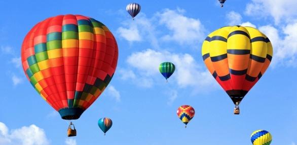 Часовой групповой полет навоздушном шаре для одного откомпании «Нашару23»