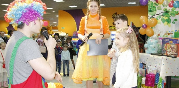 Проведение детского дня рождения сразвлечениями отцентра Crazy Park