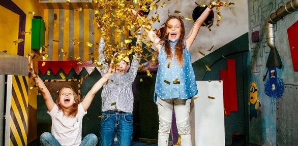 Проведение детского дня рождения сквестом откомпании «Квеструм.рф»