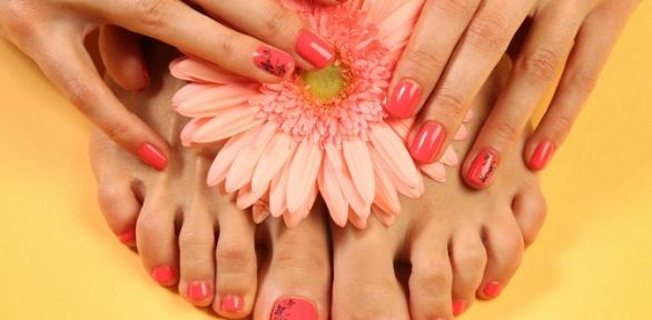 Маникюр ипедикюр или наращивание ногтей всалоне красоты «Эйфория»