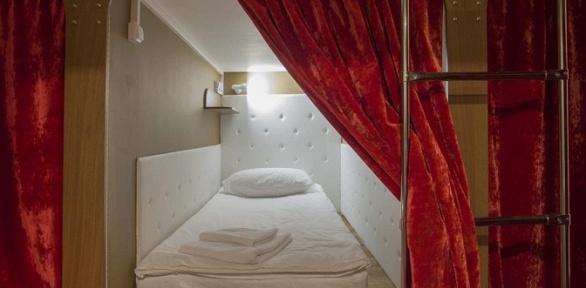 Отдых вкапсульном отеле Nevsky Capsule Hotel