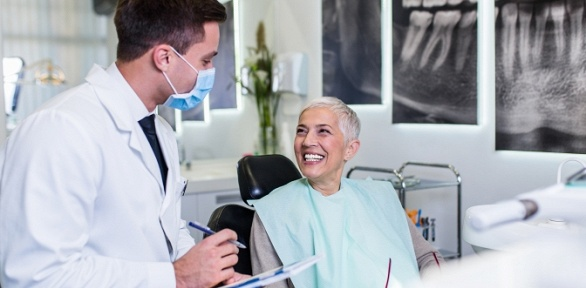 Установка имплантата встоматологии «Нью-Дент»