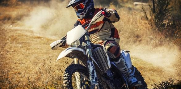 Катание накроссовом питбайке откомпании Nikodan Moto