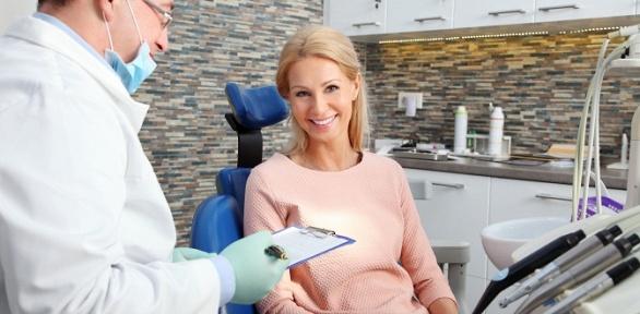 УЗ-чистка зубов вклинике «Эмидент+»