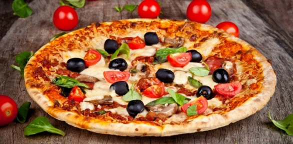 Пицца отслужбы доставки Pizza Italia заполцены