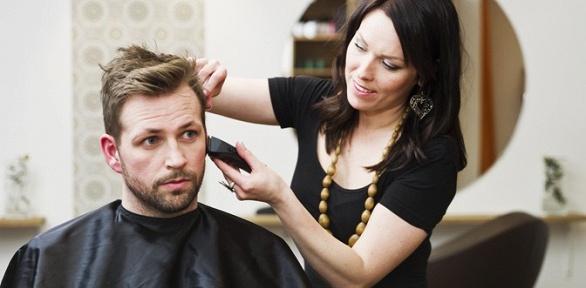 Мужская или детская стрижка, коррекция бороды всалоне «Мурки-Гламурки»