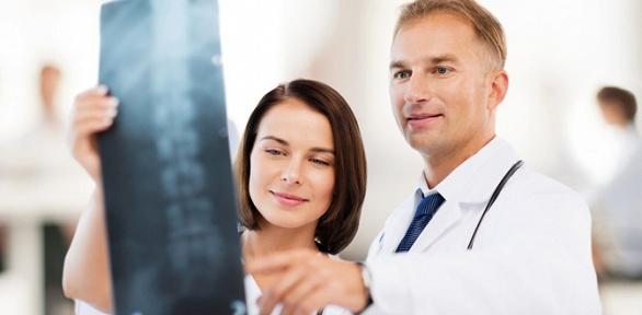 Обследование позвоночника слечением откомпании «Алгоритм здоровья»