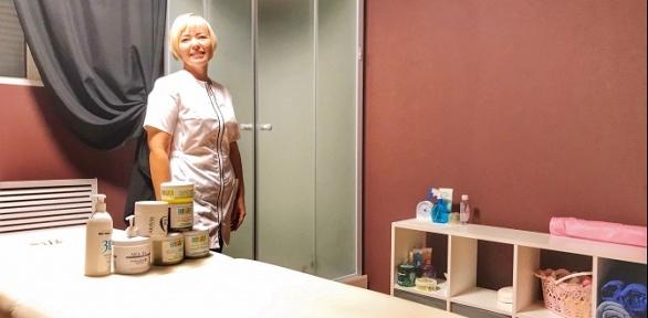 SPA-программа cобертыванием вSPA-салоне Ogrohin Salt