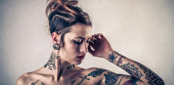 Татуировки, перманентный макияж встудии татуировки Black Note