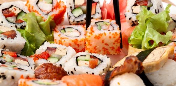 Суши-сет отресторана доставки суши ипиццы «Фудзи» заполцены