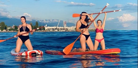 Прокат SUP-серфа, Windsurf, встреча сдельфинами, мастер-класс отSurfdom