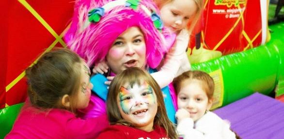 Посещение детского клуба «Детское время»