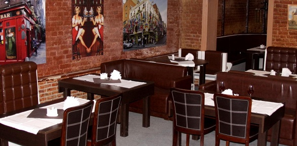 Ужин или банкет для компании до12человек отирландского паба «Дублин»