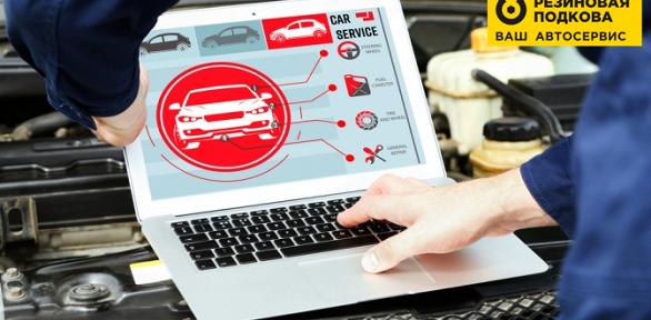 Диагностика автомобиля изаправка кондиционера всети «Резиновая подкова»