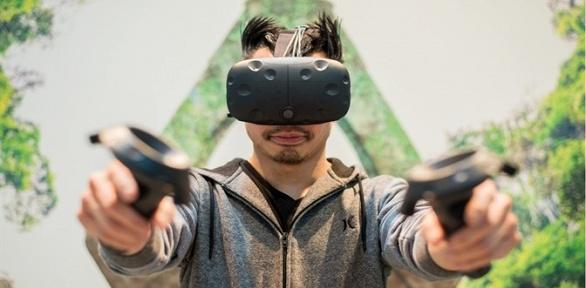 60минут игры вшлеме HTC Vive для одного или двоих вклубе VRParty Space