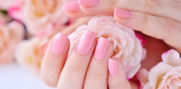 Маникюр инаращивание ногтей отсалона красоты Like