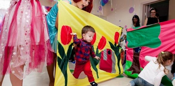 Проведение детского праздника вдетском центре «Клумба»