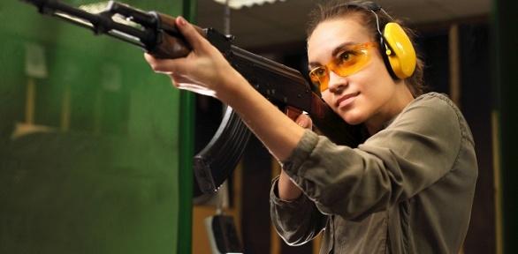 Стрельба изпневматического оружия вклубе «Стрелец»