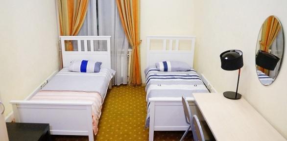 Отдых вцентре Москвы для одного или двоих вхостеле Comfort Park