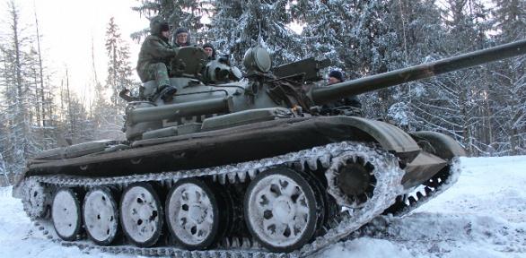 Участие впрограмме «Т-34 танк Победы» откомпании «Воентур»
