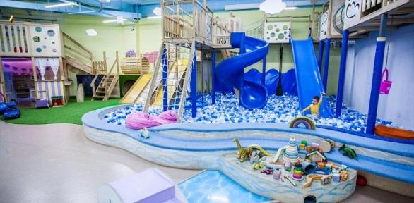 Посещение детской площадки вдетском центре «Клумба»