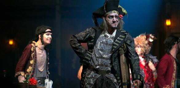 Мюзикл «Остров сокровищ» в«Цирке чудес» откомпании «Айвенго» заполцены